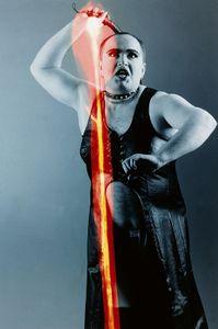 Mathias 1993, mixed media, 40x50cm