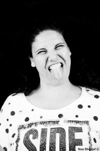 Tongue Out - Tzvia