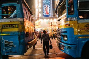 Kolkata street, India, 2016