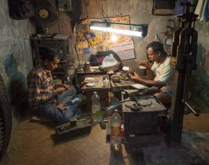 Goldsmiths, Kalighat Market, Kolkata