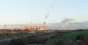 Ferrybridge, Eggborough and Drax Coal Power Plant, England 2014
