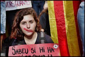 Young independentist, 3 October 2017Selfie