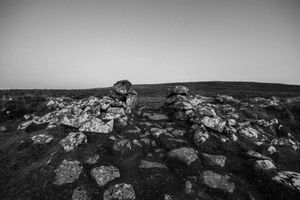 Grimspound Bronze Age Settlement Dartmoor.
