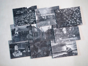 """The second handmade photobook """"In Silence and In Sorrow"""" made with """"four-hole binding"""" technique"""
