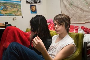 Capucine and Paul G, from Teen Tribe © Martine Fougeron