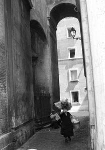 Woman in Rome 2009