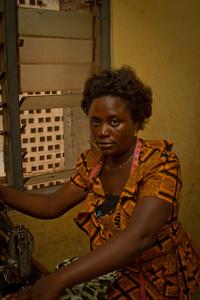 Aunty Vida, Seamstress. Cape Coast, Ghana