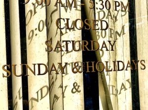 Business Hours-It's a Jumble Out There!