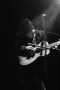 Tom Waits, Guitar, Toronto, Canada, 1981