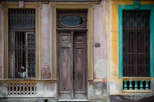 Woman in Window, Havana, Cuba, 2013
