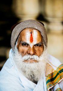 Sadhu , Monkey Temple Jaipur India , February 2018