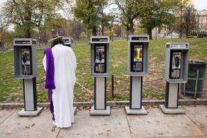 Untitled (Jesus and payphones), 2011
