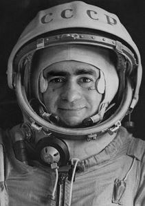 Sputnik series, Official portrait of cosmonaut pilot Ivan Istochnikov, 1997, gelatin silver print, 100 x70 cm © Joan Fontcuberta