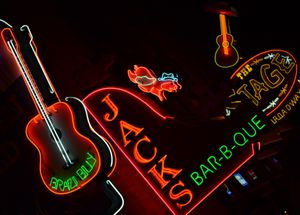 Neon Signs, Broadway, Nashville