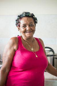 A charming mam in Trinidad, Cuba