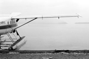 The only way in and out of Katmai National Park is by float plane or boat