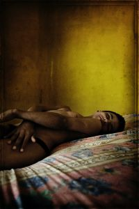 2nd prize Portraits Stories. © Pep Bonet, Spain, Noor for Positive Lives. Forced Identity: Transsexual sex workers, Honduras
