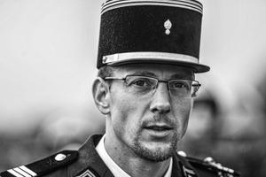 Portrait d'un Officier Sapeur Pompier