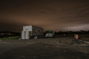 Construction Headquarters - Night
