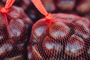 Netted chestnuts