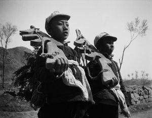 © SHA Fei (1912-1950), Children Shouldering Wooden Guns, 1938Courtesy of WANG Yan