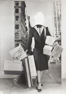 Mode-Montage, ca. 1950. Gelatin silver print. Vintage print. Collection Helaine and Yorick Blumenfeld, Courtesy of Modernism Inc., San Francisco © The Estate of Erwin Blumenfeld