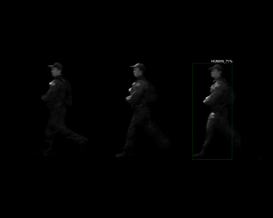 3 Captures of 1 Human (Border Patrol) with A.I. Recognition, 3-Second Interval, Censored Location, AZ