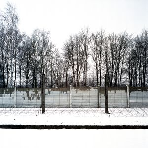 Electric Fence and Wall, Dachau Memorial and Museum
