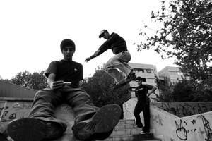 Parkour; play to display