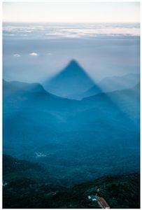 In the shadow of Adams Peak