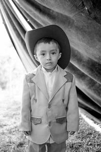 Kid with a hat