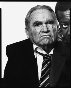George Wallace, former Governor of Alabama, with his valet, Jimmy Dallas, Montgomery, Alabama, July 31, 1993, © 2008 The Richard Avedon Foundation