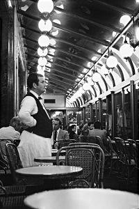 Café de la Paix, Paris, France, 1982