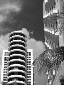 Modern Buidings, South Beach, Miami