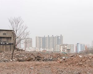 Old housing demolition, Shenyang
