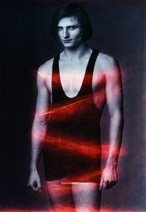 Nandi 1995, mixed media, 40x50cm