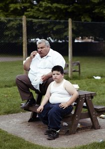 Elvis Silas Lee with his nephew Stephen Lee