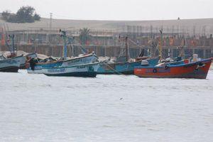 Boats at Ica, Peru