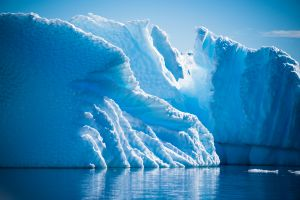 Art work by glacier