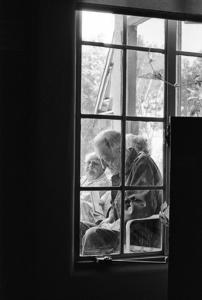 Old Man In Window