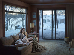 Mother and Daughter, 2014. Digital pigment print. 37 1/2 x 50 inches. Edition of 3 plus 2 APs.