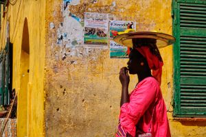 Streets of Gorée Island