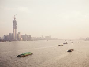 Yangtze River and Greenland , Wuhan.
