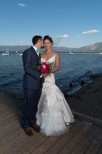 Wedding Formal kiss