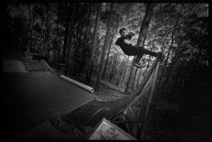 Clint, Frontside Rock, DIY Bush Park, Bairnsdale, VIC