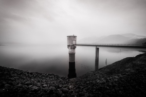 Blowering Dam Twilight