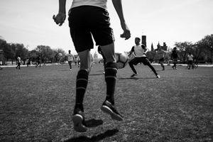 Sunday Football. Washington DC, 2018