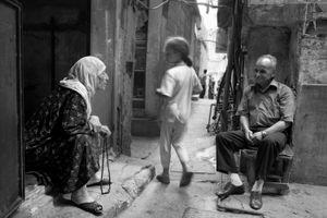 Ghost Girl, Bourj El Barajneh Camp, Beirut 2004