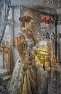 My stolen Vermeer III.  Bride