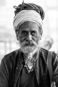 A saduh in Allahabad, India
